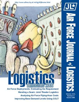 Air Force Journal of Logistics : 2005 Volume 30, Issue 2 by Rainey, James C.