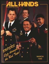 All Hands; March 1995 Volume 75, Issue 872 by Navy Department, Bureau of Navigation