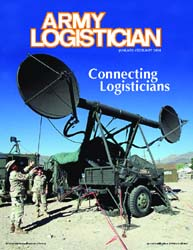 Army Logistician; January-February 2004 Volume 36, Issue 1 by Heretick, Janice W.