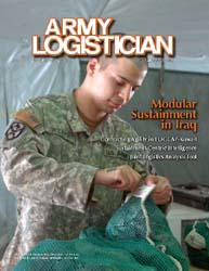 Army Logistician; July-August 2009 Volume 41, Issue 4 by Paulus, Robert D.