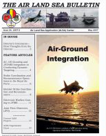Air Land Sea Bulletin : May 2007 Volume Issue 2 by Waggener, Bea