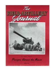 The Field Artillery Journal : April 1941 Volume April 1941 by Coleman, John E.