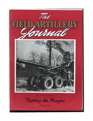 The Field Artillery Journal : August 194... Volume August 1941 by Coleman, John E.