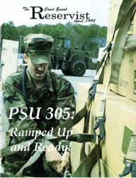 The Reservist Magazine : April 1998 by Kruska, Edward J.