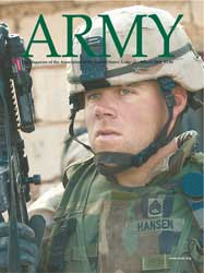 Army Magazine : March 2004 Volume 54, Issue 3 by French, Mary Blake