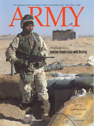 Army Magazine : April 2002 Volume 52, Issue 4 by French, Mary Blake