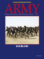 Army Magazine : April 2003 Volume 53, Issue 4 by French, Mary Blake