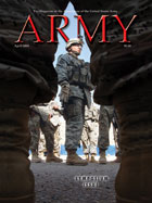 Army Magazine : April 2008 Volume 58, Issue 4 by French, Mary Blake
