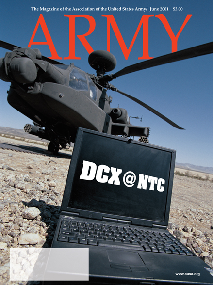 Army Magazine : June 2001 Volume 51, Issue 6 by French, Mary Blake