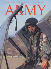 Army Magazine : August 2001 Volume 51, Issue 8 by French, Mary Blake