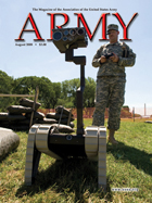 Army Magazine : August 2008 Volume 58, Issue 8 by French, Mary Blake