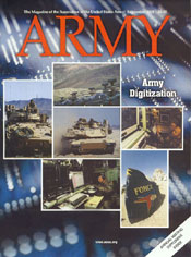 Army Magazine : September 2001 Volume 51, Issue 9 by French, Mary Blake