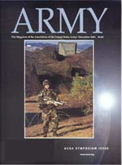 Army Magazine : December 2001 Volume 51, Issue 12 by French, Mary Blake