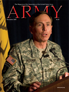 Army Magazine : December 2008 Volume 58, Issue 12 by French, Mary Blake