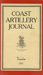 Coast Artillery Journal; December 1926 Volume 65, Issue 6 by Clark, F. S.