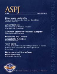 Air and Space Power Journal : Fall 2009 Volume 23, Issue 3 by Cain, Anthony C.