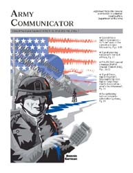 Army Communicator; Fall 2002 Volume 27, Issue 3 by Edmond, Larry