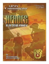 Army Communicator; Fall 2008 Volume 33, Issue 4 by Edmond, Larry