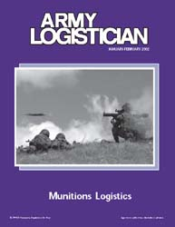 Army Logistician; January-February 2002 Volume 34, Issue 1 by Heretick, Janice W.