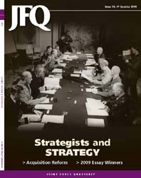 Joint Force Quarterly (Jfq) : Issue 55; ... Volume Issue 55 by Ellason, William T.