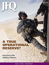 Joint Force Quarterly (Jfq) : Issue 59; ... Volume Issue 59 by Ellason, William T.
