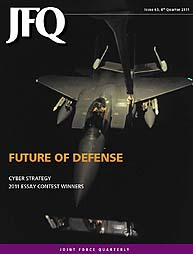 Joint Force Quarterly (Jfq) : Issue 63, ... Volume Issue 63 by Ellason, William T.