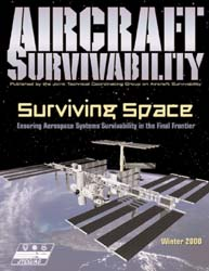 Aircraft Survivability Journal : Winter ... Volume Winter 2000 by Lindell, Dennis