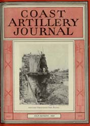 Coast Artillery Journal; July-August 193... Volume 77, Issue 4 by Bennett, E. E.