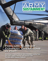 Army Sustainment; July-August 2010 Volume 42, Issue 4 by Paulus, Robert D.