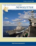 The Navy Supply Corps Newsletter : March... by Adams, Kathy