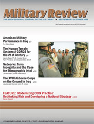 Miltary Review : September-October 2006 Volume September-October 2006 by Smith, John J.