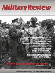 Miltary Review : January-February 2009 Volume January-February 2009 by Smith, John J.
