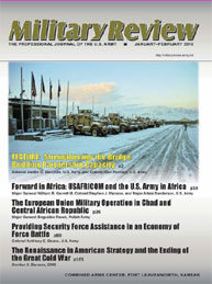 Miltary Review : January-February 2010 Volume January-February 2010 by Smith, John J.