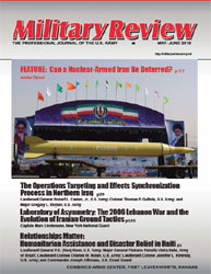 Miltary Review : May-June 2010 Volume May-June 2010 by Smith, John J.