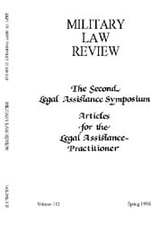 Military Law Review : April 1986 ; Volum... by Department of the Army, Headquarters