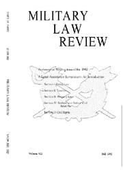 Military Law Review : October 1983 ; Vol... by Department of the Army, Headquarters
