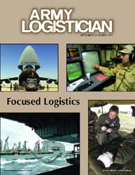 Army Logistician; November-December 2003 Volume 35, Issue 6 by Heretick, Janice W.