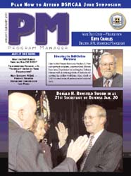 Program Manager Magazine : January-Febru... Volume January-February 2001 by Johnson, Collie