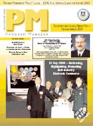 Program Manager Magazine : July-August 2... Volume July-August 2000 by Johnson, Collie