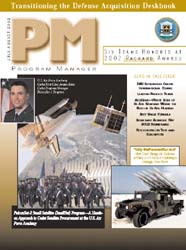 Program Manager Magazine : July-August 2... Volume July-August 2002 by Johnson, Collie