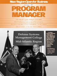 Program Manager Magazine : July-August 1... Volume July-August 1997 by Johnson, Collie