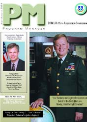 Program Manager Magazine : July-August 1... Volume July-August 1998 by Johnson, Collie