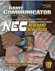 Army Communicator; September 2009 Volume 34, Issue 2 by Edmond, Larry