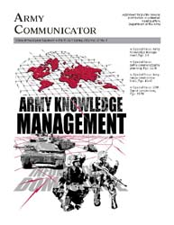 Army Communicator; Spring 2002 Volume 27, Issue 1 by Edmond, Larry