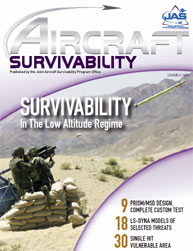 Aircraft Survivability Journal : Summer ... Volume Summer 2009 by Lindell, Dennis