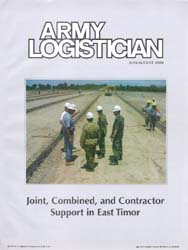 Army Logistician; July-August 2000 Volume 32, Issue 4 by Heretick, Janice W.