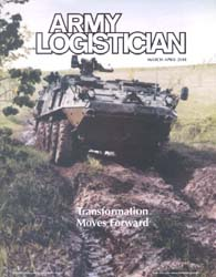 Army Logistician; March-April 2001 Volume 33, Issue 2 by Heretick, Janice W.