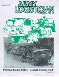 Army Logistician; September-October 1996 Volume 28, Issue 5 by Speights, Terry R.