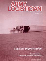 Army Logistician; May-June 1998 Volume 30, Issue 3 by Speights, Terry R.