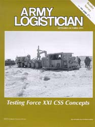 Army Logistician; September-October 1999 Volume 31, Issue 5 by Speights, Terry R.